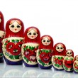 Nested doll — Stock Photo