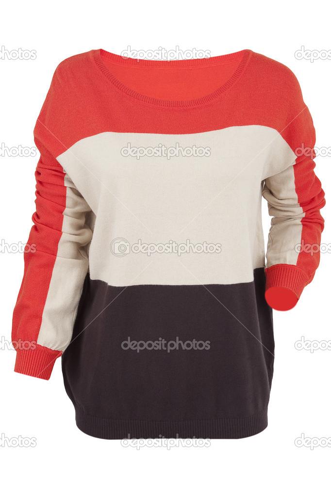 Разноцветный Пуловер Доставка