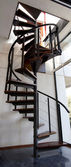 Design spiral staircase — Stock Photo