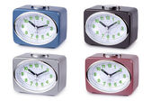 Modern alarm clock multi-colour.  — Stockfoto