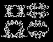 Floral design elements — 图库矢量图片
