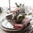 Christmas Place Setting — Stock Photo #14348183