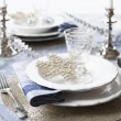 Christmas Place Setting — Stock Photo #14348281