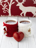 Cup Of Tea For Lovers — Stockfoto