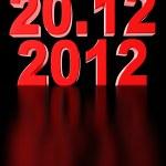Date of doomsday — Stock Photo