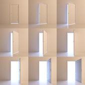 Opened door — Stock Photo