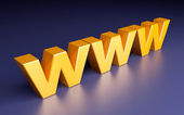 World wide web — Stock Photo