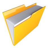 Folder icon — Foto de Stock