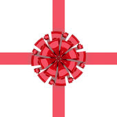 Bow with ribbon — Stock Photo
