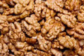 Walnuts as background — Stock Photo