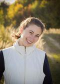 Porträtt av en söt flicka — Stockfoto