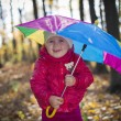 Girl with umbrella — Stock Photo #34889205