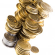 Stock Photo: Stack cents