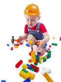 Barn builder — Stockfoto