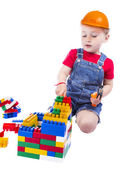 Child builder — Stock Photo