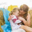 Woman with child — Stock Photo
