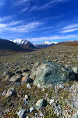 Mountains stones glacier — Stock Photo