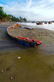 Derevnny boat — Stock Photo
