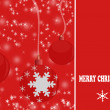 Elegant christmas background - Stock Vector