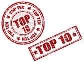 Top 10 — Vector de stock