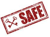 Güvenli damgasısello de seguridad — Vector de stock