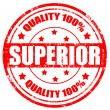 Superior-stamp — Stock Vector #24444681