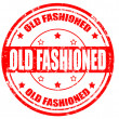 Old fashioned-stamp — Imagen vectorial