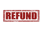 Refund -stamp — Vetorial Stock