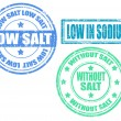 Low Salt — Stock Vector