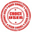 User Choice — Stock Vector