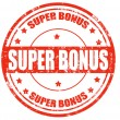 Stock Vector: Super bonus