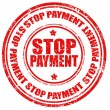 Stop payment-stamp — Stock Vector #28874569
