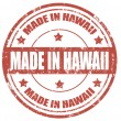 Stock Vector: Made in Hawaii-stamp