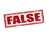 False штамп — Cтоковый вектор