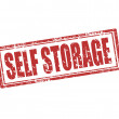 Self storage-stamp — Stock Vector