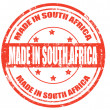 Made in South Africa — Stock Vector