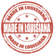 Made in Louisiana — Stock Vector