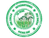 International Picnic Day — Stock Vector