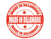 Made in Delaware — Stock Vector