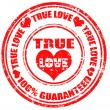 True Love-stamp — Stock Vector