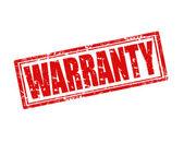Warranty-stamp — Stock Vector
