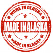 Made in Alaska — Vettoriali Stock