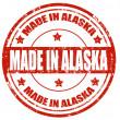 made Alaska'da — Stok Vektör