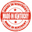 Made in Kentucky — Stockvectorbeeld