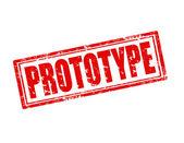 Prototype-stamp — Stock Vector