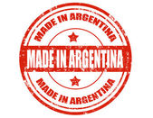 Made in Argentina — Vector de stock