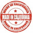 Stock Vector: Made in California