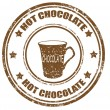 Hot Chocolate-stamp — Stock Vector #30640085