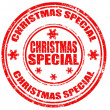 Stock Vector: Christmas Special-stamp