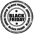 Stock Vector: Black Friday-stamp